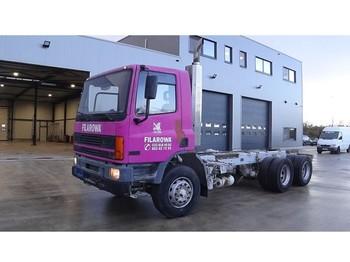 Şasi kamyon DAF 75 ATI 270 (STEEL SUSPENSION / MANUAL PUMP / 6X4 / 10 TIRES)
