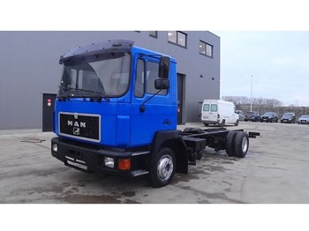 Şasi kamyon MAN 14.272 (6 CYLINDER ENGINE WITH MANUAL PUMP AND GEARBOX)