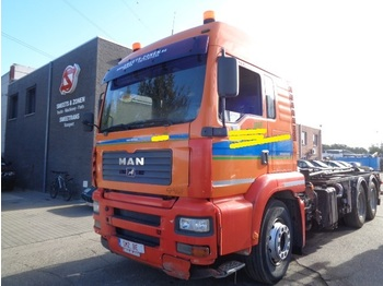 Şasi kamyon MAN TGA 33.413 steel/manual/engine