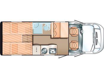 Carado T 337 Im Kundenauftrag (FIAT Ducato)  - дом на колёсах