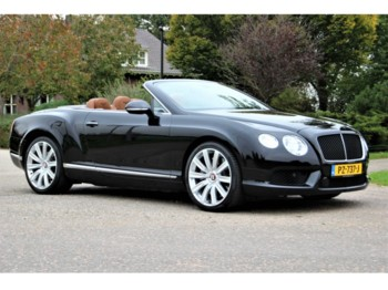 Bentley Continental GTC 2012 MULLINER V8 - lengvasis automobilis