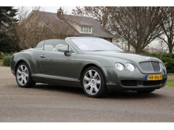 Bentley Continental GTC 45dkm! - lengvasis automobilis