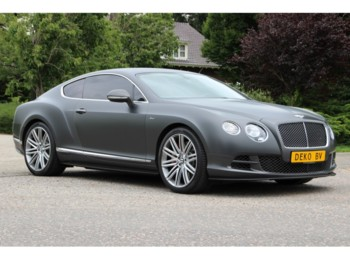 Bentley Continental GT SPEED SPECIAL ORDER MY2015 - lengvasis automobilis