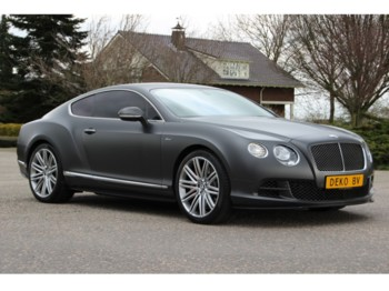 Bentley Continental GT SPEED !!SPECIAL ORDER!!MY2015 - lengvasis automobilis
