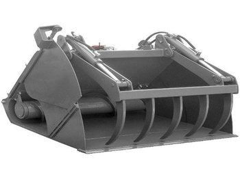 Ahlmann Voerdoseercontainer 1.60m  - kovë me dy nofulla
