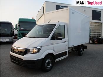 MAN TGE 3.140 4X2F SB - furgons ar slēgtā virsbūve