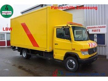 Mercedes-Benz Vario 814 D Vario LBW  Pannenhilfe 3 Sitzer AHK - furgons ar slēgtā virsbūve