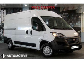 FIAT DUCATO Fg2.3 L2H2 PACK CAMPER/PACK CLIMA/ANDROID AUTO/APPLE CARP - krovininis mikroautobusas