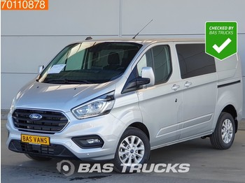 Krovininis mikroautobusas Ford Transit Custom 2.0 TDCI 130PK L1H1 DC Limited Automaat Navigatie Camera L1H1 3m3 A/C Double cabin Towbar Cruise control