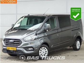 Krovininis mikroautobusas Ford Transit Custom 2.0 TDCI 130PK Nieuw Automaat DC L2H1 LIMITED Navi Camera L2H1 4A/C Double cabin Towbar Cruise control