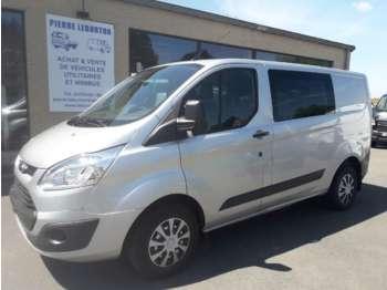 Ford Transit Custom dble cab airco navi cruise 13200€+tva/btw - krovininis mikroautobusas
