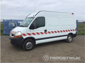 Renault Master 3.5t L2H2 2.5 DCI 115 - krovininis mikroautobusas