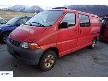 Toyota Hiace - krovininis mikroautobusas