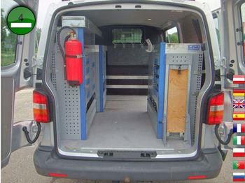 VW T5 Transporter 2.5 TDI 4Motion KLIMA AHK GEWA We - krovininis mikroautobusas