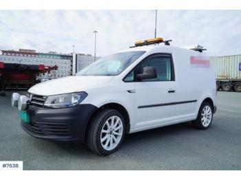 Volkswagen Caddy - krovininis mikroautobusas