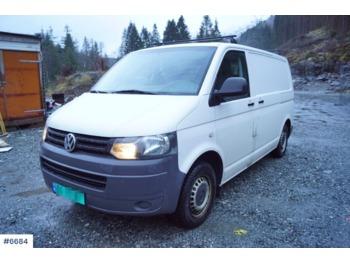 Volkswagen Transporter - krovininis mikroautobusas