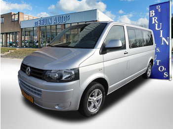 Krovininis mikroautobusas Volkswagen Transporter 140 PK TDI Caravelle Dubbel cabine Lange uitvoering DC Autm. Airco