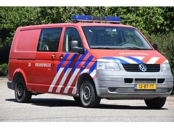 Volkswagen Transporter TDI 77 KW DC 1.0 DOKA/KLIMA!!FEUERWEHR!!158dkm!! - krovininis mikroautobusas