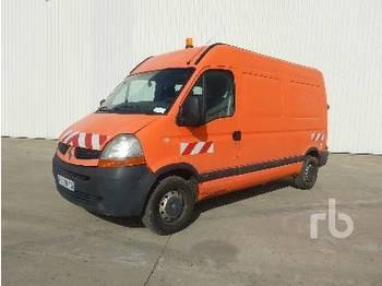 Суцільнометалевий фургон RENAULT MASTER 100DCI: фото 1