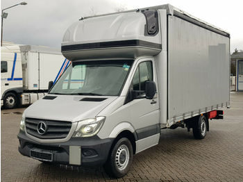 Mercedes-Benz Sprinter 316 CDI Maxi*Topsleeper*Xenon*Plane 5m  - тентований фургон