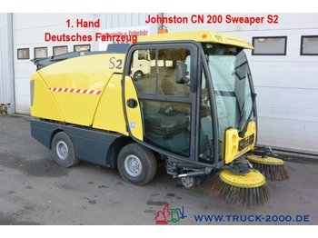 Tänavapuhastusmasin Johnston Sweeper CN 200 Kehren & Sprühen Klima