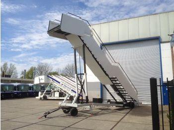 Luftfahrt-Bodengerät AMSS High Rise passenger stairs with 24V