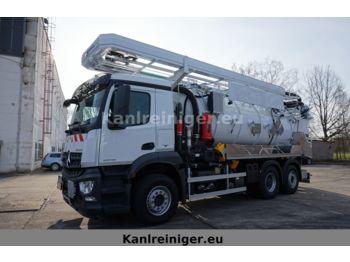 Saug-/ Spülfahrzeug Mercedes-Benz AROCS 2546 L 6x2 Kroll ADR Kombi*MIETEN*KAUFEN*