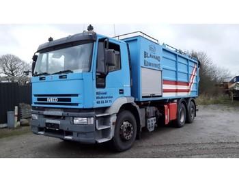 Iveco 240E38 6x2 Vacuum Truck Simon Moos KSA - ассенизатор