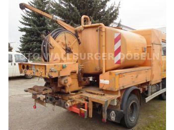 Magirus Deutz M 130 M 8 FL  DOKA 6 Sitze + HOCHDRUCKREINIGER  - ассенизатор