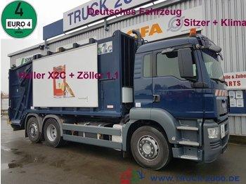 Мусоровоз MAN TGS 26.320 Haller X2 + Zöller 1.1 Deutscher LKW