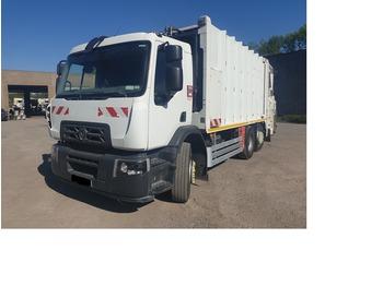 Atkritumu vedējs RENAULT D26 P320 6x2 EJES ELEVABLES