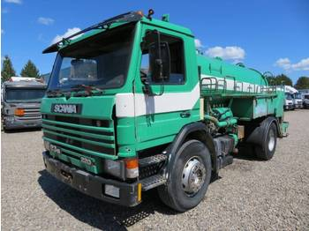 Scania P93/250 4x2 Hvidtved Larsen SLP 7,0 - каналопочистваща машина