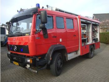 Пожежна машина Mercedes-Benz 1124 AF 4x4 camion bomberos firetruck