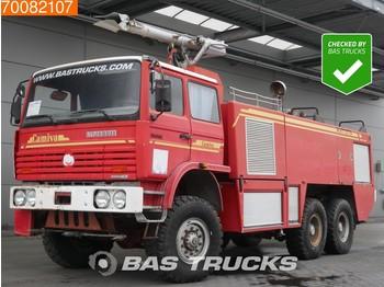 Renault Fire Truck Thomas Camiva 6X6 Airport Rescue-Vehicle Alpiroute. tank capacity: 9500 liter water + 650 l. foam. - пожежна машина