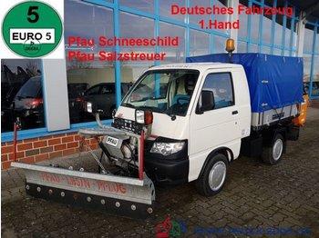 Piaggio Pfau S 90 Allrad Winterdienst Pflug+Salzstreuer - komunalne/ specjalistyczne