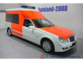 Mercedes-Benz E 280 Krankentransport Trage Rollstuhl Rampe 10 - pogotowie