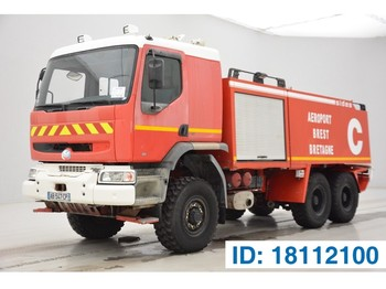 Samochód pożarniczy Renault Premium 385 - 6x4