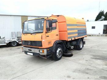 Zamiatarka MERCEDES-BENZ 1314 6 cylinder manual fuel pump 13 ton