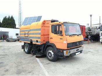 Zamiatarka MERCEDES-BENZ 1314 6 cylinder manual fuel pump 13 ton: zdjęcie 1