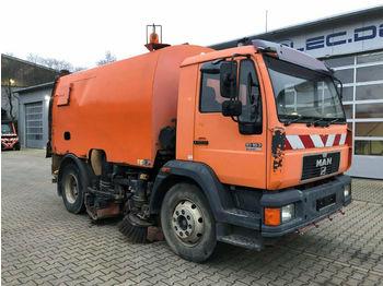 MAN 15.163 4x2 Kehrmaschine FAUN AK460 guter Zustand  - sklizňový vůz