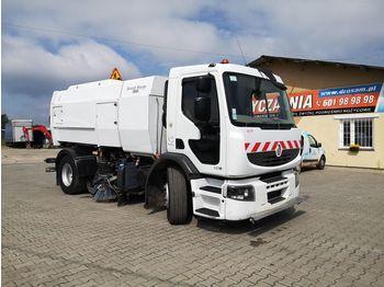 RENAULT Premium 320 DXI sweeper, street sprinkler, kehrmaschine - sklizňový vůz