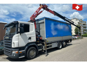 Scania R420 LB 6x2  - kravas automašīna ar tentu