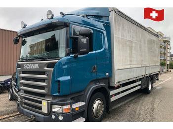 Scania R440  LB 4x2  - kravas automašīna ar tentu