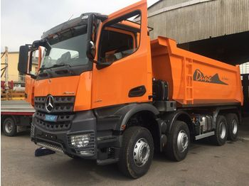 Mercedes-Benz 4142 8X4  MuldenKipper Euromix EMT 18m  - kravas automašīna pašizgāzējs