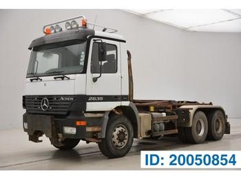 Mercedes-Benz Actros 2635K - 6x4 - pacēlājs ar āķi