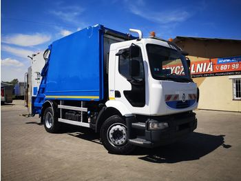 RENAULT Midlum 280 DXI EURO V garbage truck mullwagen - roska-auto