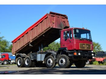 MAN 41.372 8x8 1989 - kippiauto kuorma-auto