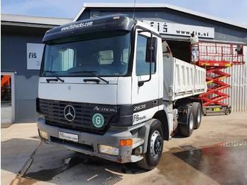 Mercedes Benz ACTROS 2635 6X4 tipper - euro 3 - ac - kippiauto kuorma-auto