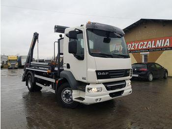 DAF FA bramowiec, skip loader truck EURO V EEV - nostovarsi-vaihtolavakuorma kuorma-auto