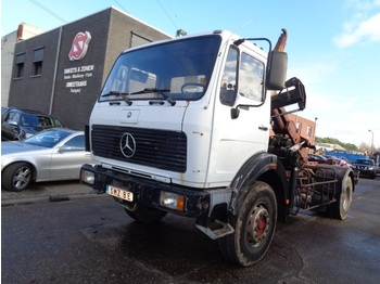 Abrollkipper Mercedes-Benz SK 1922 container hiab/070